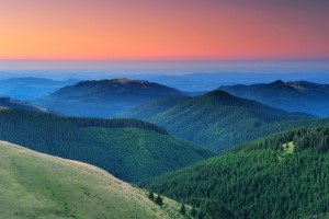 CTarcu mountains nature reserve, Natura 2000 area, Southern Carpathians, Romania.