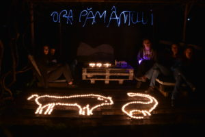 Earth Hour in Romania