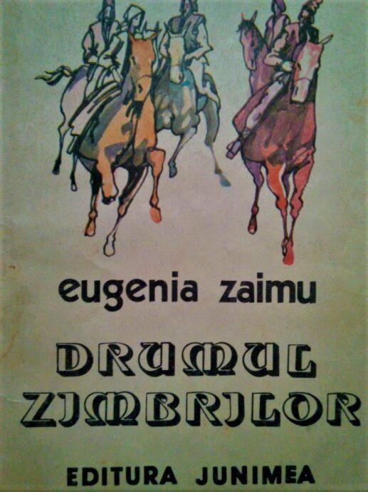 Ilustraie zimbri din cartea Drmul Zimbrilor, de Eugenia Zaimu